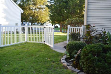 Pose de clôture à Fleury